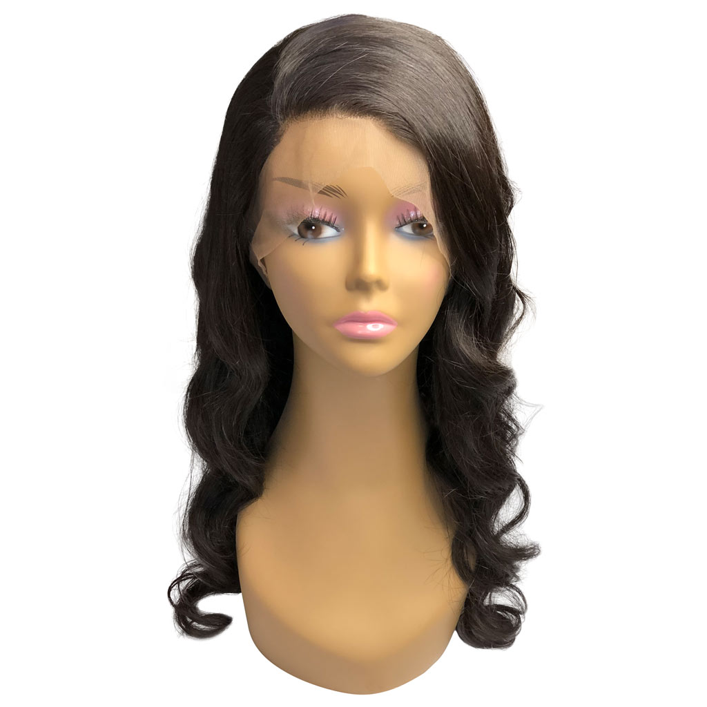Virgin Brazilian Body Wave – 360 Full Lace Wig